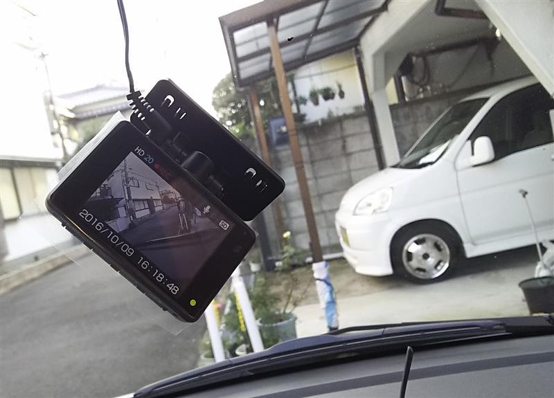 ワゴンR ☆ ドライブレコーダー装着