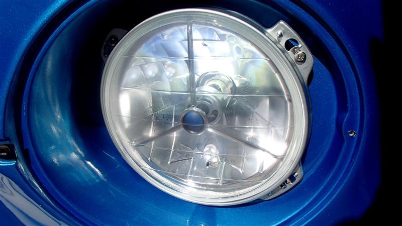 [ミニバス] LEDヘッドライト交換