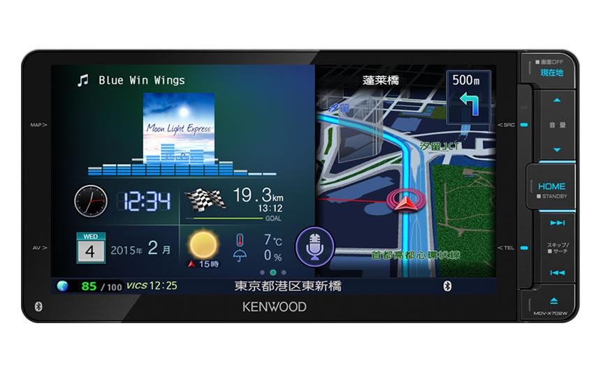 MDV-X702 地図データ更新