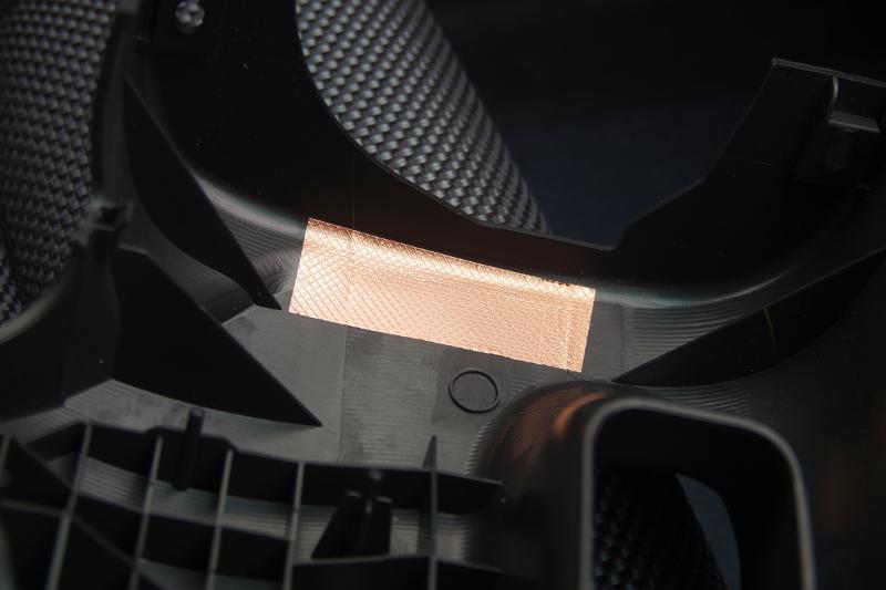 アルミテープチューン貼り付け箇所(備忘録)その1