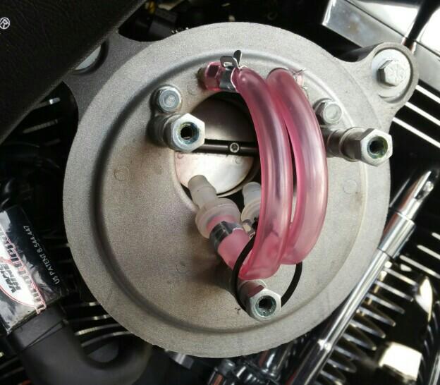 スクリーミンイーグルステージⅠ・エアクリーナーキット改造