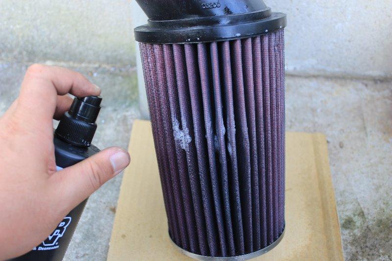 エアクリーナーフィルター洗浄