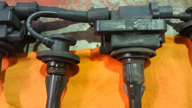 L-902 イグニッションコイル&プラグ交換