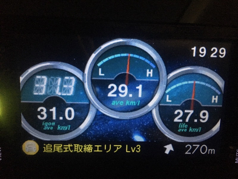 eco Glider GT+ 走行記録 927