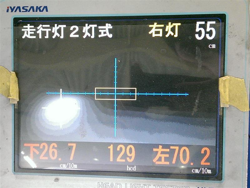 ヴィヴィオRX-R光軸点検