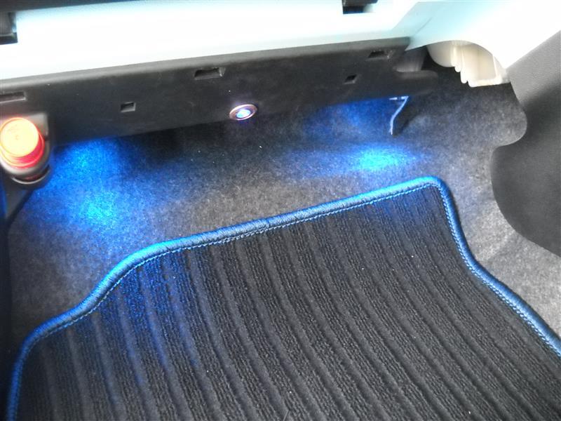 レーザープロジェクターロゴLEDライト バットマンブルー補修
