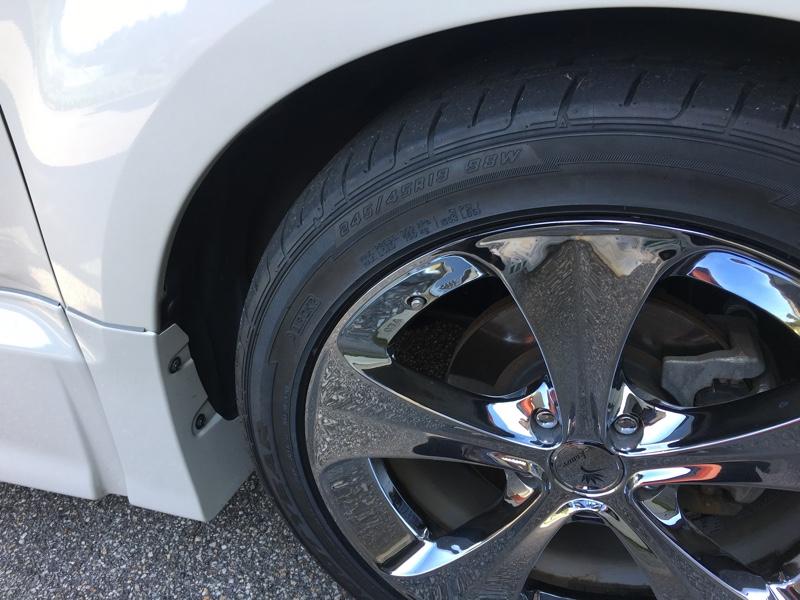 タイヤのみ交換
