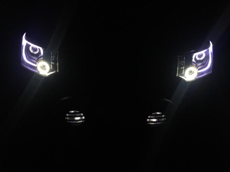 ヘッドライト加工④ファイナル