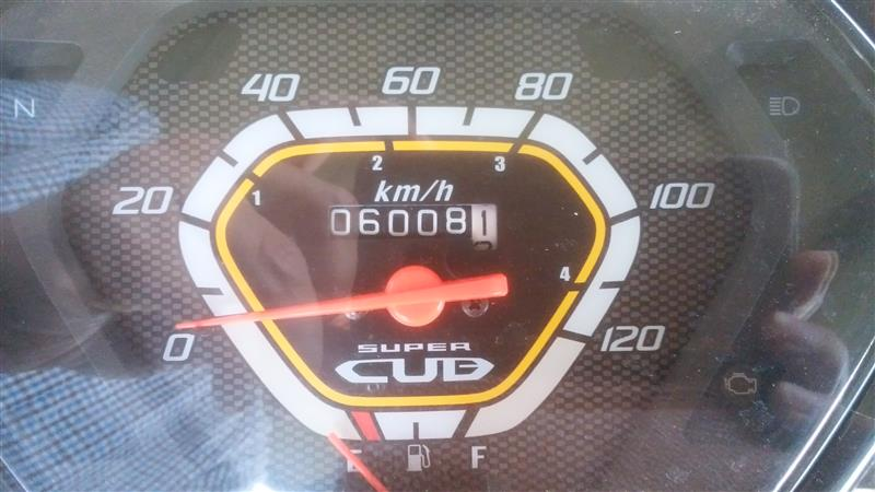 燃料ポンプリコール&オイル交換(6,000km)