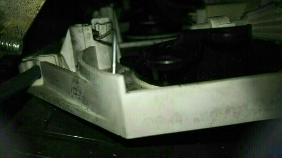 吹き出し口切り替えレバー ワイヤー修理