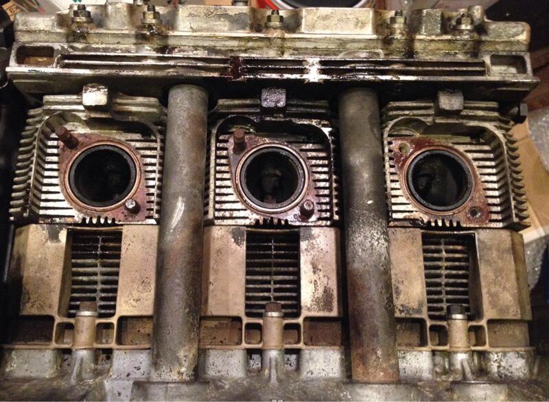 エンジン部品再塗装