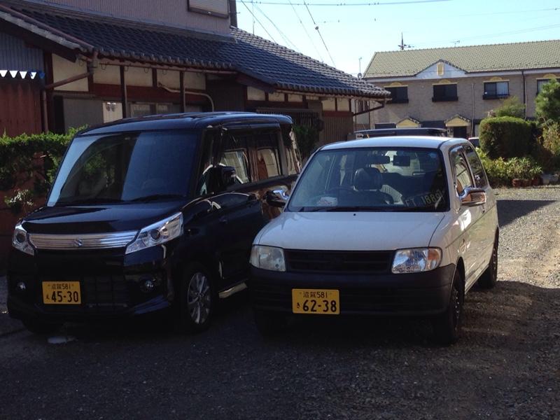 ミラと洗車(^O^)/