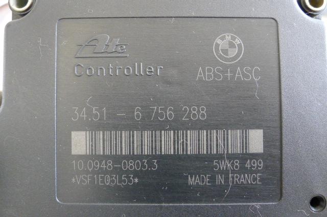 Z3 ABS&ESC ウォーニング点灯 コントローラーDIY修理②