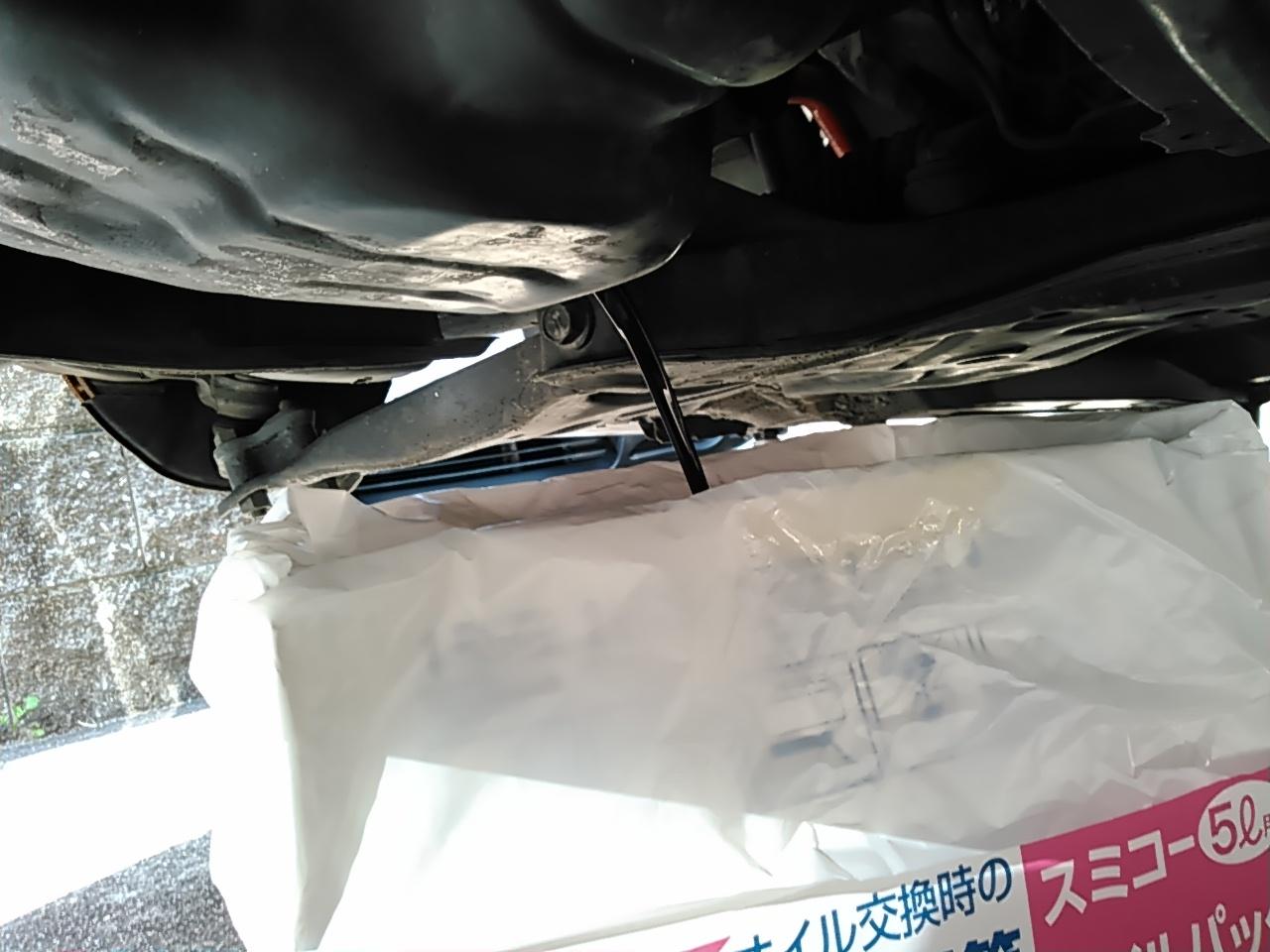 ブレーキパットとエンジンオイル交換