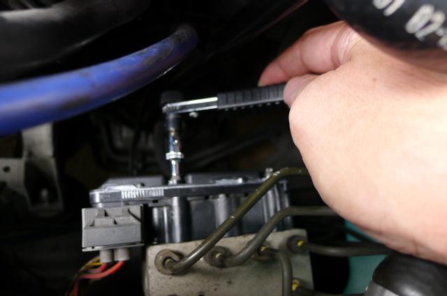 Z3 ABS&ESC ウォーニング点灯 コントローラーDIY修理③