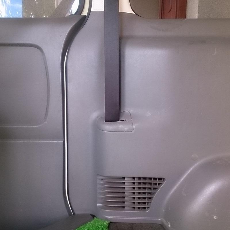 2016/10/10 後部座席のシートベルトを取り付けに香川県まで行ってきました♪2/9