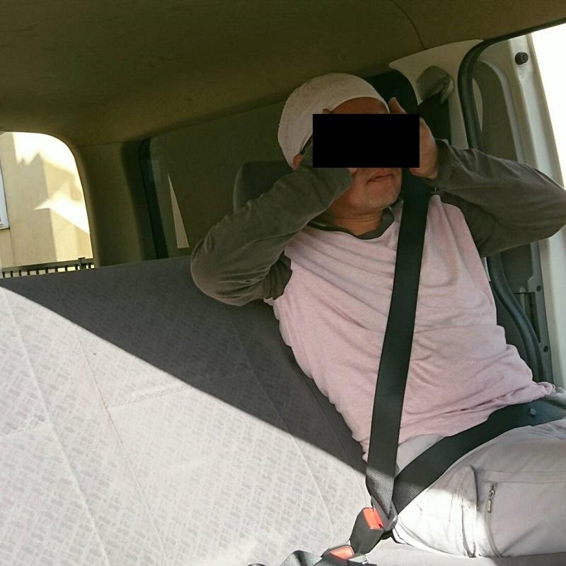 2016/10/10 後部座席のシートベルトを取り付けに香川県まで行ってきました♪6/9