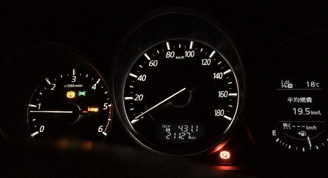 新車6ヶ月点検(21286km)