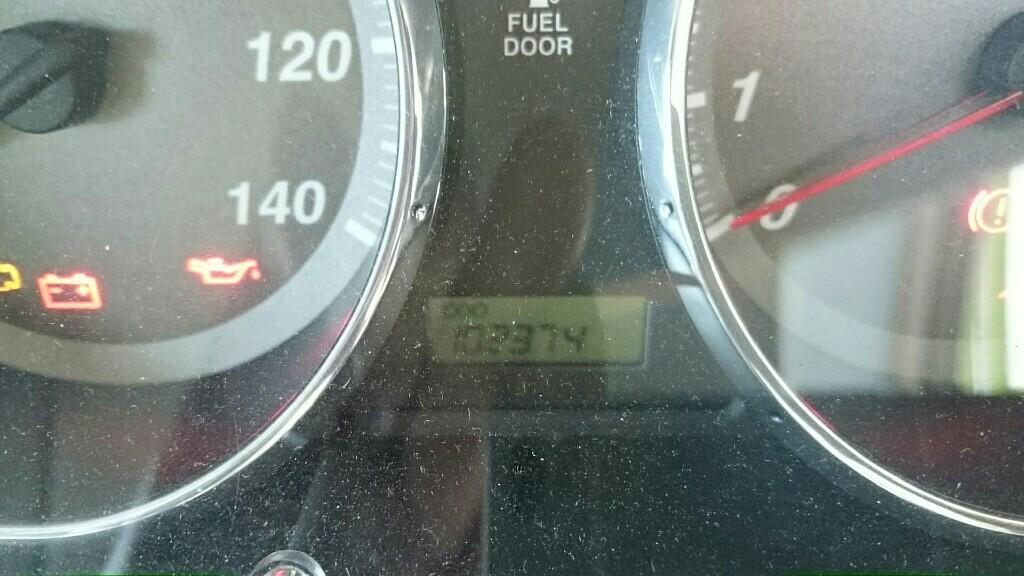 エンジンオイル交換(記録用) 102374km