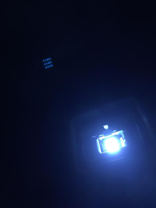 室内灯交換