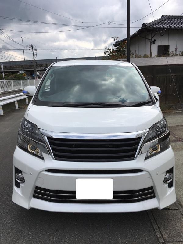 H-STYLE トヨタ 20ヴェルファイア後期用 フロントグリル【Ver2】メッキ/ブラック タイプ