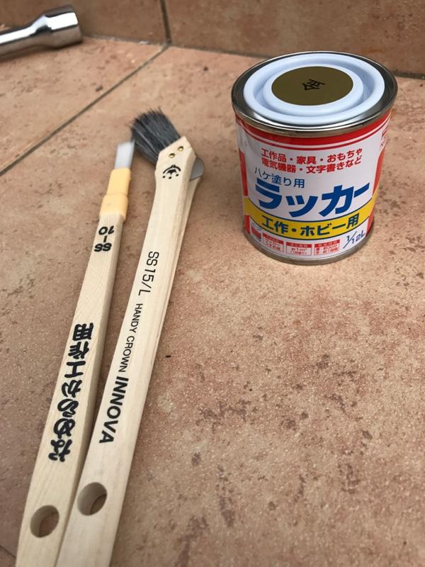ブレーキキャリパー塗装