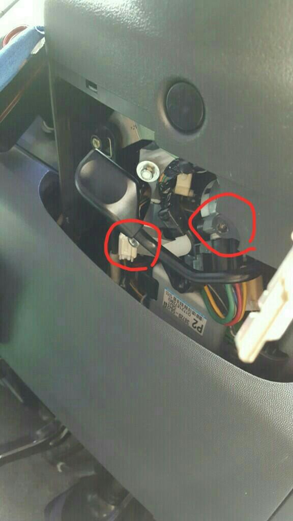 O/Dスイッチ移設〜配線を引きずり出す