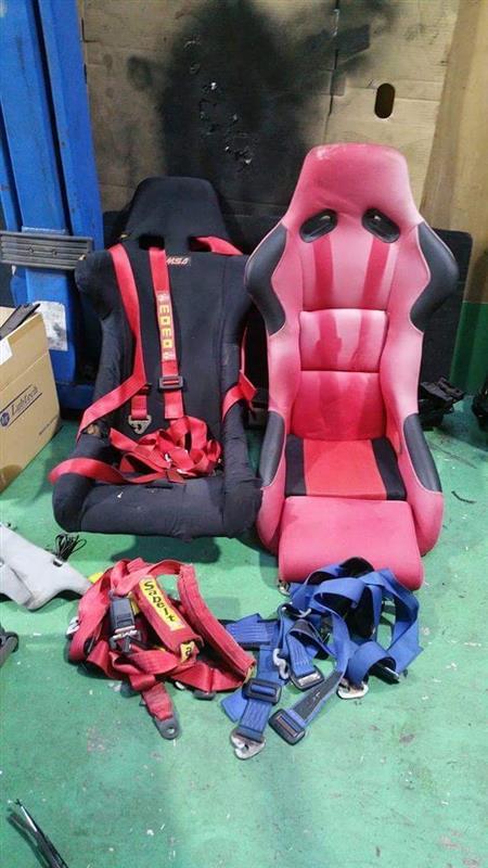 固定座席塗装編