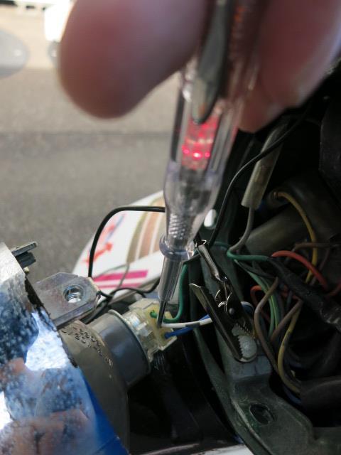 ヘッドライトをバルカン風LEDライト加工(下準備)