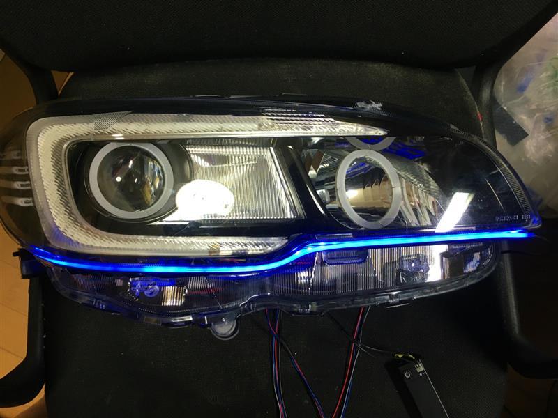 オリジナルヘッドライト加工(その13)