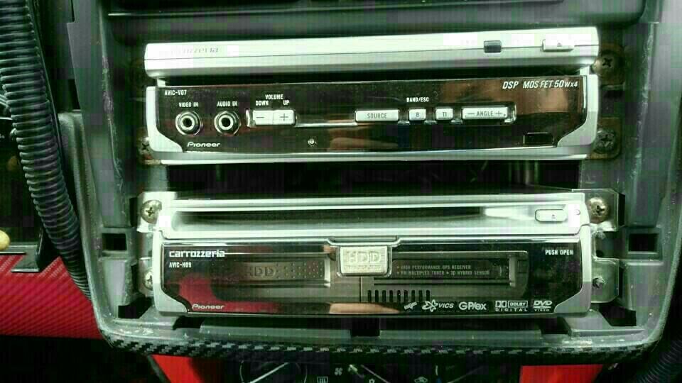 AVIC-H09&V07システム終焉
