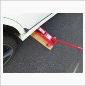 ◆車をジャッキア~ップ!