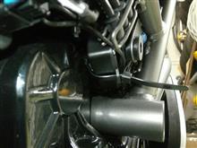 XディアベルS ユピテルバイクナビBNV-1取り付けのカスタム手順2