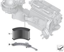 3シリーズ ツーリング エアコンフィルター交換のカスタム手順1