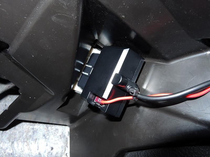 バッテリー上がり対策(レーダー探知機(OBDⅡ)のACC電源化)