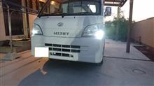 ハイゼットトラック ポジション/ルームランプ高輝度化とクロームバルブのカスタム手順2