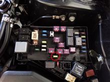 レガシィツーリングワゴン ルームランプのLED化のカスタム手順1