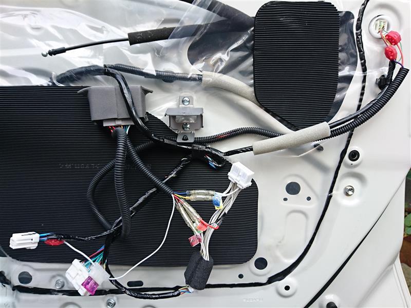 キーレス連動ドアミラー自動格納装置 Type-A装着