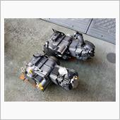 今までのデイトナダイナヘッド125ccエンジンから、以前使っていた武川R-ステージ115ccエンジンへの載せ替えに伴い、エンジンオイル&エレメントを交換しました。