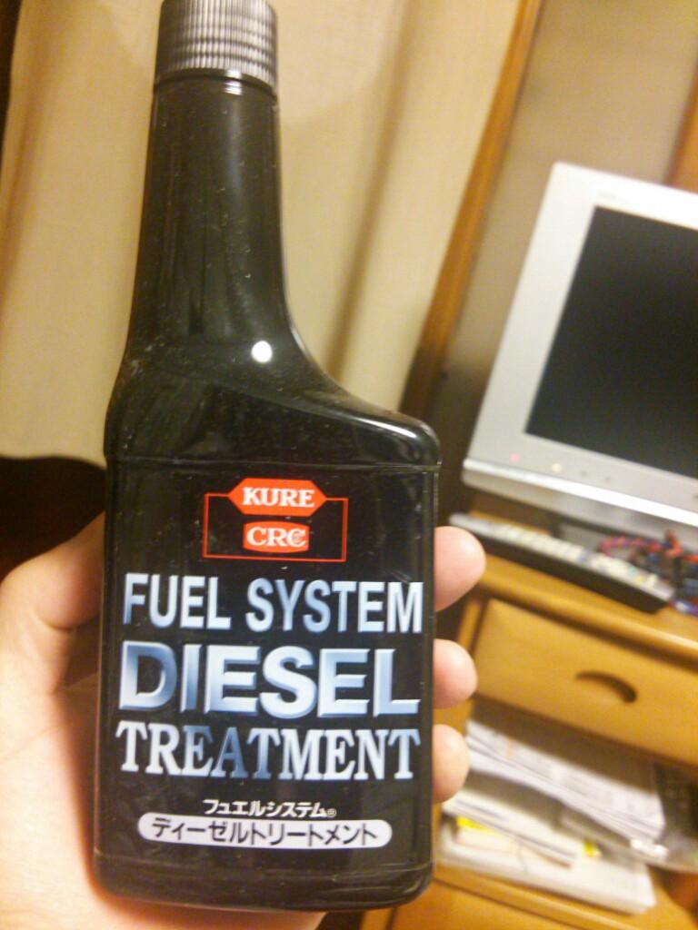 満タン給油2回に1回注入!!