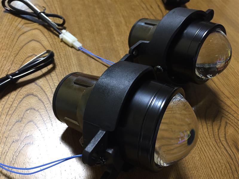 純正LEDフォグ交換
