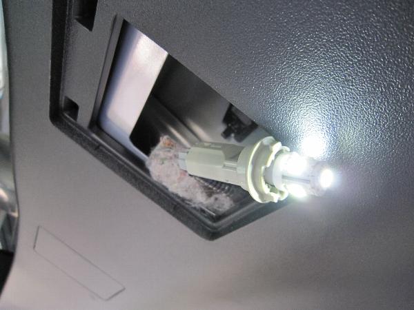ナンバー照明 LED交換 その他
