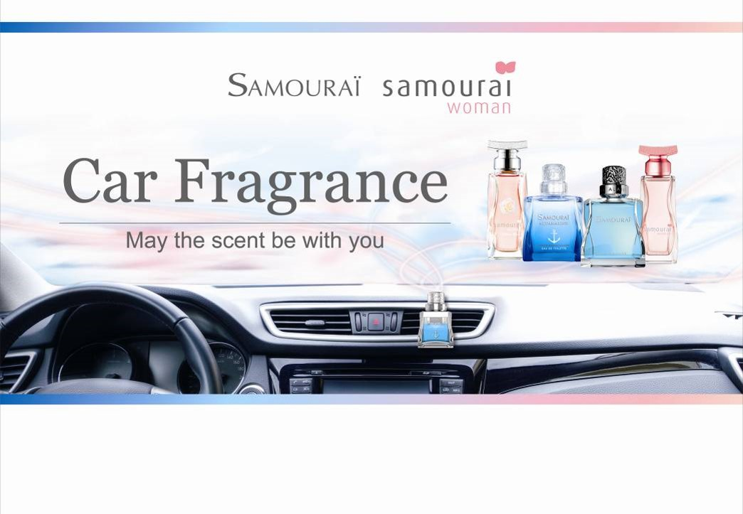 SAMOURAI Car Fragrance