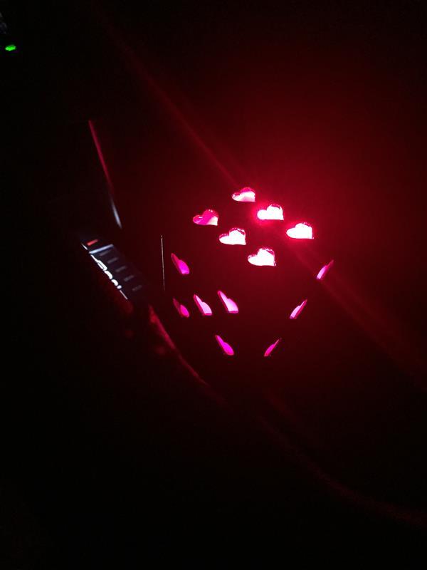 サイコロ芳香剤LED化