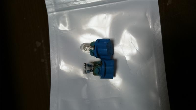 メーター LED化