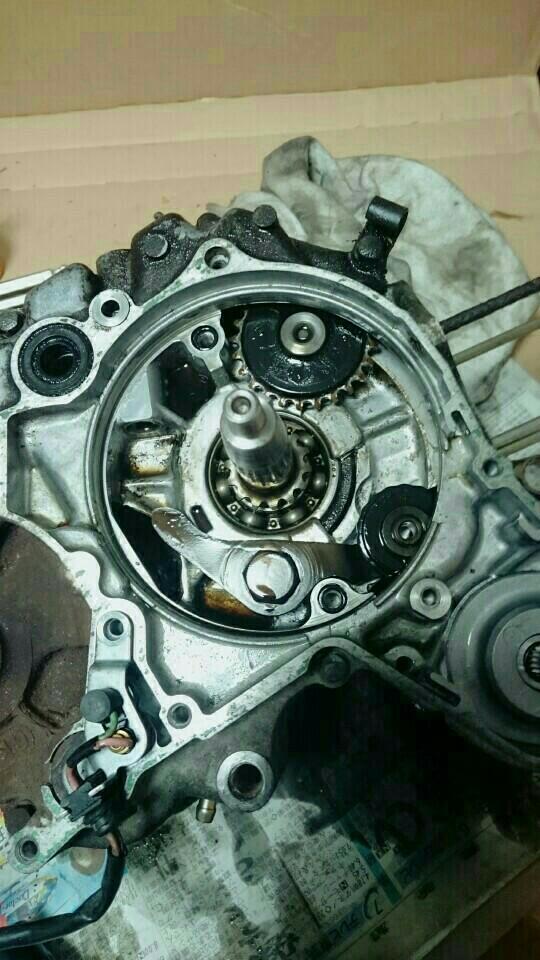 マグナ50 エンジンオーバーホール その2