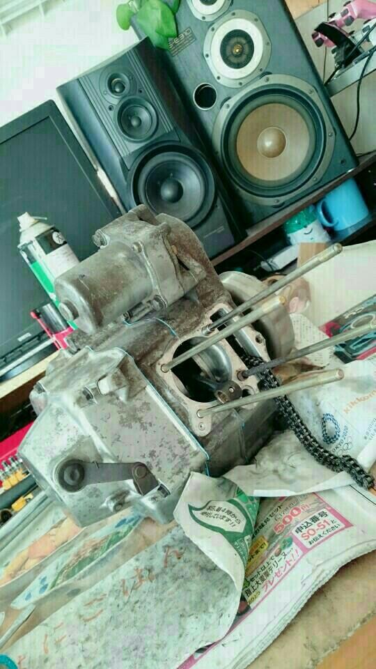 マグナ50 エンジンオーバーホール その3