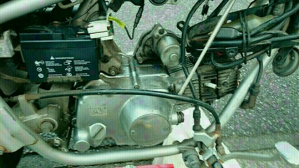 マグナ50 エンジンオーバーホール その4