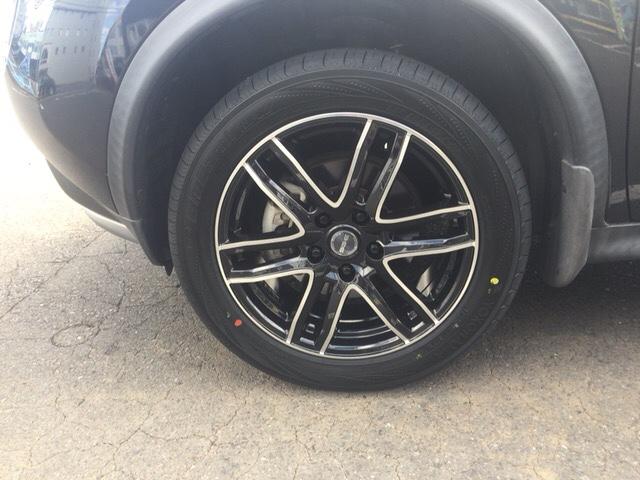 タイヤ、ホイール変えてみました!