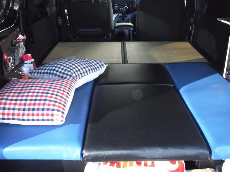 自作車中泊ベッド